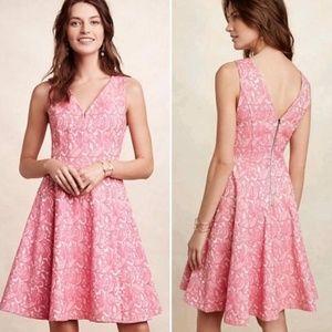 ANTHROPOLOGIE MAEVE Claribel Fit Flare Dress